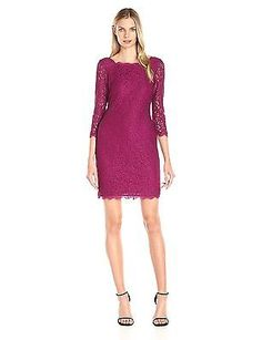 12 (US Size) (US Size), Crushed Berry, Adrianna Papell 41864780 Tunic Women's Dr