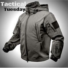 Rothco's #tacticaltuesday Featuring our Special Ops Tactical Softshell Jacket