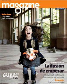 Bianca de Sugar Kids para magazine La Vanguardia