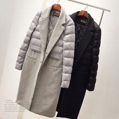 HouzDeco – Interior Design and Home Decor Ideas Winter Coats Women, Coats For Women, Jackets For Women, Mode Mantel, Winter Stil, Lookbook, Down Coat, Fashion Outfits, Womens Fashion