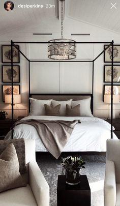 Exceptional Home Decor Bedroom Photos Grey Bedroom Decor, Bedroom Decor For Couples, Bedroom Inspo, Bedroom Colors, Home Bedroom, Master Bedroom, Master Suite, Bedroom Ideas, Bedroom Photos