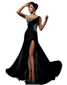 DAPENE Woman Sexy One-shoulder Beaded Backless Side Slit Evening Gowns Cocktail Dress DAPENE http://www.amazon.com/dp/B00LCUBHYA/ref=cm_sw_r_pi_dp_sEaFub0DMMT4R