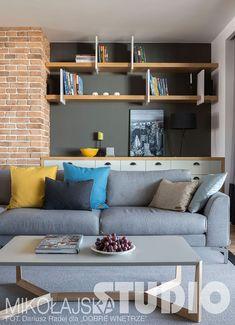 SALON W STYLU LOFT Loft, My House, House Design, Living Room, Interior Design, Studio, Nice, Kitchen, Furniture