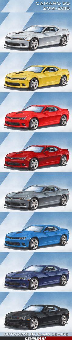 Chevrolet Camaro, Corvette, 2014 Camaro Ss, Chevy Girl, Gwen Stacy, Automotive Art, Muscle Cars, Dream Cars, Gay