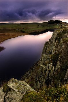 Crag Lough from Hadrian's Wall, Northumberland