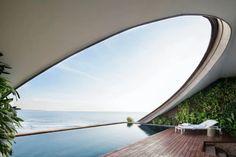 5 atemberaubende Pools zum Träumen - The Chill Report Minimalist Bedroom, Minimalist Decor, Minimalist Kitchen, Minimalist Interior, Minimalist Living, Modern Minimalist, Modern Interior, Future House, My House