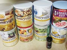 Chef Tess Bakeresse: Emergency Preparedness and Everyday Convenience COMPLETE Meal- in-A-Jar Mixes (7 day Menu)