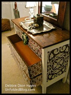 stencil for bedroom furniture - Moroccan Stencils | Moorish Fleur de Lis Stencil | Royal Design Studio
