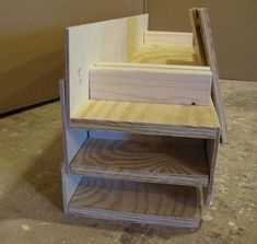 Craft show display collapsible riser by Wudls on Etsy, $40.00
