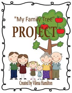 "Please note: this product was revised on August 6, 2013.The purpose of this project is to help children learn more about their family history and to develop appreciation to where they've come from.Your students are sure to enjoy doing research on their family roots, recording the data in the Ancestor Chart, and constructing a project.Here is what's included:* Project Instructions Page* Ancestor Charts (for boys and girls)* Apples Template""My Family Tree"" Project is licensed under a Creative…"