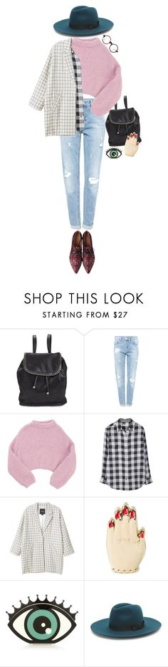 """September"" by hongstar234 ❤ liked on Polyvore featuring STELLA McCARTNEY, Pull&Bear, Lala Berlin, Equipment, Monki, Charlotte Olympia, Emporio Armani and Kendall + Kylie"