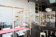 design by oatmeal studio. IkHa, a dining experience, even the meatballs are 'hacked'