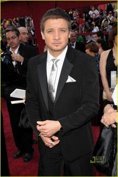 Jeremy Renner Anthony Mackie Brian Geraghty Oscars Red Carpet