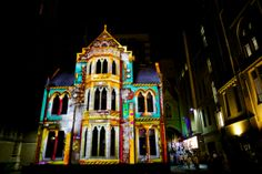 Illuminated buildings Melbourne - White Night 2013 Watch the video here: www.youtube.com/...