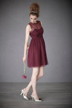 2015年流行色!『マルサラ』色のお呼ばれドレスで最新おしゃれを取り入れたい♡にて紹介している画像