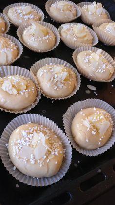 Desert Recipes, Vanilj, Cheesecake, Deserts, Muffin, Food And Drink, Mat, Bread, Baking