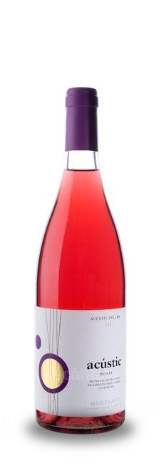 Acústic Rosat 2011, Rosé wine Montsant at decantalo.com