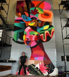 """1,441 curtidas, 23 comentários - R o g e r i O P e d r O (@rogeriopedroart) no Instagram: """"❤️Diva❤️ #streetart #rogeriopedro #maispoesia #graffiti #urbanwalls #urbanart #sampagraffiti…"""""""