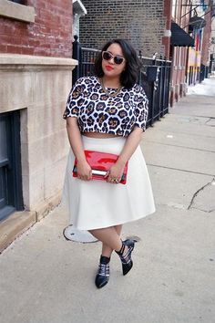 Trend to Try: Crop Tops and Midi Skirts | StyleCaster