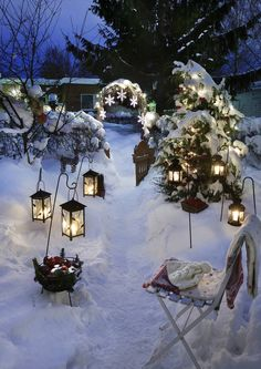 Pihan jouluvalot – 12 tunnelmallista ideaa | Meillä kotona