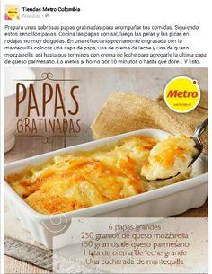 PAPAS GRATINADAS
