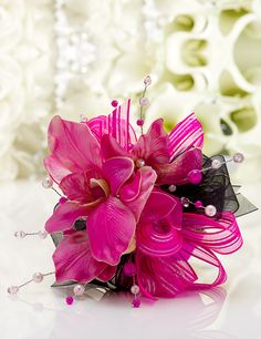 """Tropical Fusion"" Corsage for Homecoming, Prom 