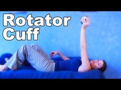 Rotator Cuff Exercises Shoulder Injury Rehab - Ask Doctor Jo Rotator Cuff Injury Exercises, Rotator Cuff Rehab, Arthritis Exercises, Arm Exercises, Exercise Workouts, Fat Workout, Boxing Workout, Workout Plans, Workout Routines