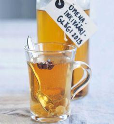 Hot apple and ginger drink/Omenainkivääriglögi