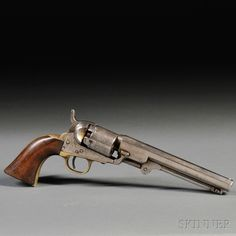 Colt 1849 Pocket Revolver, c. 1858 Loading that magazine is a pain! Get your Magazine speedloader today! http://www.amazon.com/shops/raeind