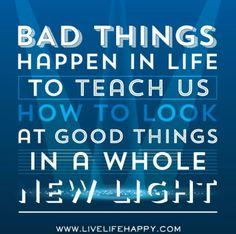 Bad things happen!!!