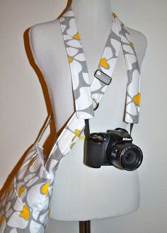 CUSTOM Camera Strap to match your bag by Darby Mack by DarbyMack, $24.00 - A strap to match the perfect multi-use bag for my photography program!