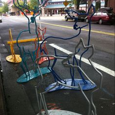 Coolest bike parking ever!