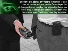 How Electronic Pickpockets Steal Your Identity Document Shredding, Shredded Paper, Identity Theft, How To Protect Yourself, Touching You, Extra Money, Saving Tips, Helpful Hints, Destruction