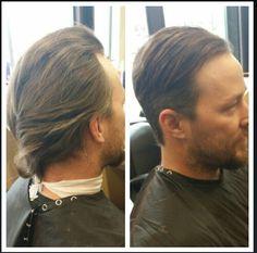 #beforeandafter #hair #menscut