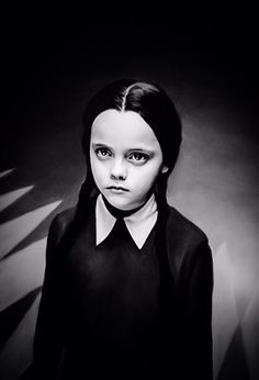 INTJ - Wednesday Addams (We watched both Addams family movies last night and Mama kept pointing at me. I wonder why.)