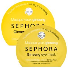 Love the Sephora face masks? These are a new version just for the eye area! #Sephora #Mask