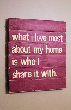 Quello che amo della mia casa e con chi la condivido