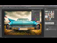 Changing colors of objects without making selections - YouTube