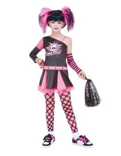 Gothic Cheerleader Child 10-12 Kids Girls Costume BESTPR1CE http://www.amazon.com/dp/B00E8HG04G/ref=cm_sw_r_pi_dp_0n9iwb0V8ZTDK