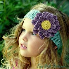 Ultimate Flower and Lace Headband Pack Pattern $5.50