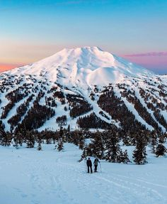 Today's Location: Mount Bachelor Oregon  Photographer:@richbacon   Mount Bachelor formerly named Bachelor Butte is a stratovolcano atop a shield volcano in the Cascade Volcanic Arc and the Cascade Range of central Oregon. The Mount Bachelor ski area has operated on the mountain since 1958. The volcano lies at the northern end of the 15-mile long Mount Bachelor Volcanic Chain.  Selected by: @jeff_bell_photos   #MountBachelor #sunrise #oregon #oregonexplored #traveloregon #pnwonderland…