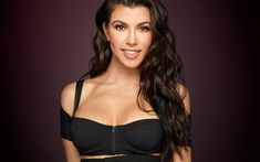 Download wallpapers 4k, Kourtney Kardashian, 2017, Hollywood, beauty, brunette, american actress