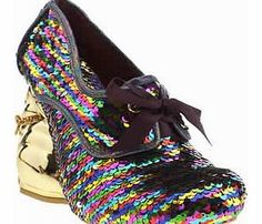 Irregular Choice womens irregular choice multi disco bunny What can we say about the Irregular Choice Dicso Bunny Sequins? Its pretty dull really. The multi-coloured sequin style features a gold 11cm rabbit shaped wedge, complete with a gold glittery bow coll http://www.comparestoreprices.co.uk/womens-shoes/irregular-choice-womens-irregular-choice-multi-disco-bunny.asp