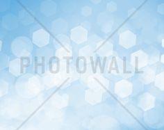 Shimmering Blue - Fototapeter & Tapeter - Photowall