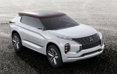 Another step towards the new-generation of Mitsubishi SUV models will be made…