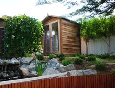 One of our gorgeous cedar studios visit us http://www.melwoodcedarsheds.com/backyard-studios