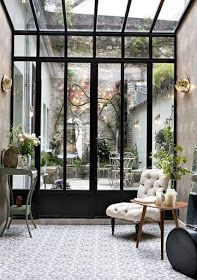 I Would Stay There…Hotel Henriette Paris. – Marine I Would Stay There…Hotel Henriette Paris. I would stay there…Hotel Henriette Paris. Design Hotel, Design Loft, Beach Design, Patio Design, Design Design, Garden Design, Modern Design, Interior Exterior, Interior Architecture