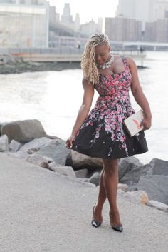 005afdb18d 0 3 Red Valentino floral dress claire sulmers fashion bomb daily christian  louboutin so kate zara