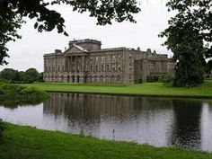 """Made famous in the BBC's 1995 adaptation of """"Pride and Prejudice"""" (the best one, imo), Lyme Park, located in Manchester, England, was used as Mr. Darcy's sprawling estate known as """"Pemberley."""" In 1997, our choir had the honor of a private tour throughout the estate and the chance to sing in the courtyard. I would love to go back and imagine walking on its grounds, arm in arm with Mr. Darcy. /Swooooon"""