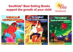 SoulKids Books of Self Confidence are best sellers - children love them. All the art work is done by children who attend SoulKids!